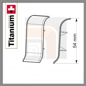 Łącznik Titanium 08-Dąb Kawowy