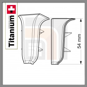 Narożnik wew. Titanium 04-Dąb Szary