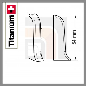Zaślepka lewa Titanium 01-Biała