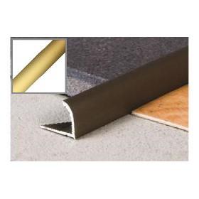 Profil Krawędziowy 10 mm aluminiowy 2,5 m ZŁOTO