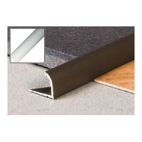 Profil Krawędziowy 10 mm aluminiowy 2,0 m SREBRO