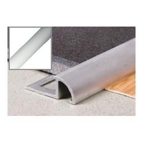 Profil aluminiowy najazdowy owalny 2,5 m SREBRO