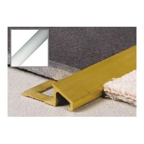 Profil aluminiowy łączący skos 2,5 m SREBRO