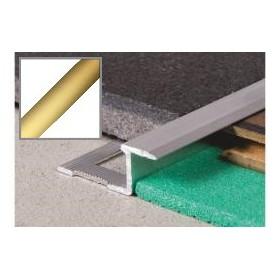 Profil aluminiowy z-płaska 2,5 m ZŁOTO