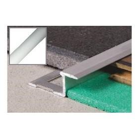 Profil aluminiowy z-płaska 2,5 m SREBRO