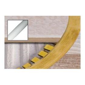 Profil dylatacyjny D15P do łuków 2,5 m SREBRO