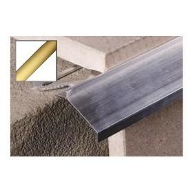 Profil okapowy aluminiowy 2,5 m ZŁOTY