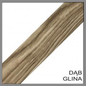 L 40 186 Profil łączeniowy Dąb Glina 40mm/186cm