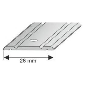 G 109 186 SR Profil łączeniowy płaski SREBRO 28mm/186cm