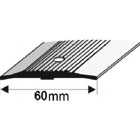 G160 Profil łączeniowy płaski 60mm/93cm SREBRO