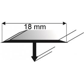 Teownik T18mm lakierowany BIAŁY 1,86m